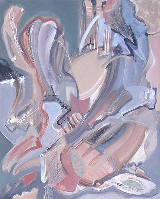 Non-objective Painting - Visual Jazz #4 by Philip Rader