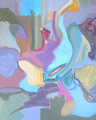 Non-objective Painting - Visual Jazz #5 by Philip Rader