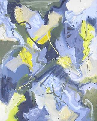 Non-objective Painting - Visual Jazz #7 by Philip Rader