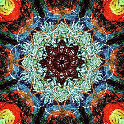 Mixed Media - Visual Mantra 2 by Jesus Nicolas Castanon