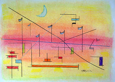 Drawing - Visualization by J R Seymour