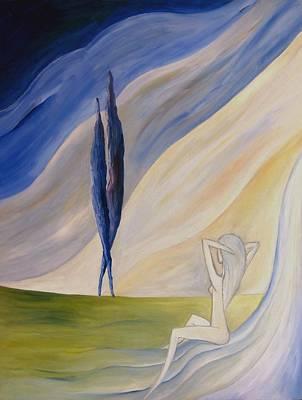 Dea Painting - Vita by Alberto V  Donati