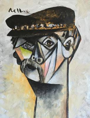 Brut Mixed Media - Vitae The Old Man  by Mark M Mellon