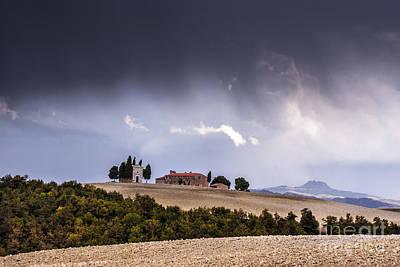 Tuscany Photograph - Vitaleta Chapel by Yuri Santin