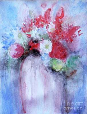 Art Print featuring the painting Vitality Still Life by Jasna Dragun