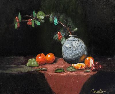 Ruben Carrillo Wall Art - Painting - Vitalityvase by Ruben Carrillo