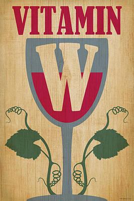 Digital Art - Vitamin W by WB Johnston