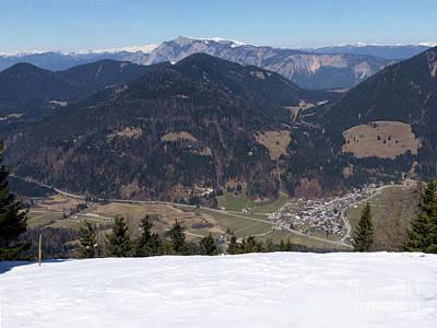 Photograph - Vitranc - View To Austria by Phil Banks