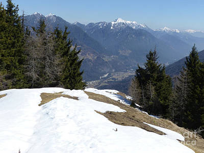Photograph - Vitranc - View To Sava Dolinka Valley by Phil Banks