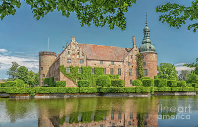 Photograph - Vittskovle Castle In South Sweden by Antony McAulay