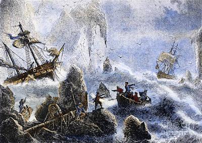1741 Photograph - Vitus Jonassen Bering by Granger
