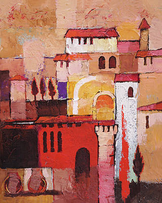 Painting - Viva Espana by Lutz Baar