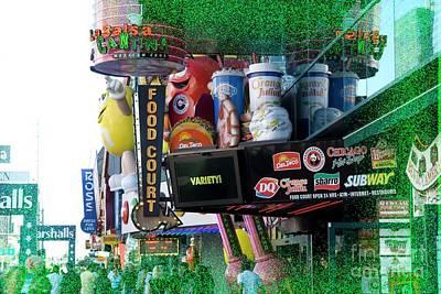 Mixed Media - Viva Las Vegas by Bob Pardue
