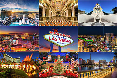 Photograph - Viva Las Vegas Collection 2 by Aloha Art