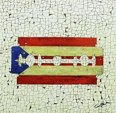 Painting - Viva Porto Rico by Emil Bodourov