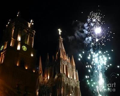 Photograph - Viva San Miguel De Allende by Barbie Corbett-Newmin