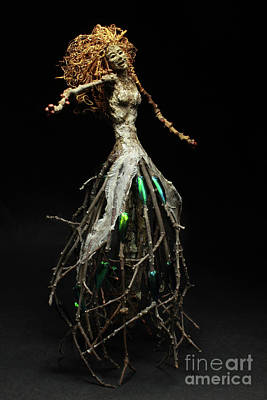 Tendrils Mixed Media - Vivacious by Adam Long