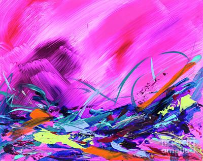 Painting - Vivacious by Amy Yosmali