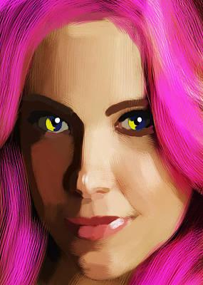 Lovebird Digital Art - Vivian Mayer New Portrait by Maciej Mackiewicz