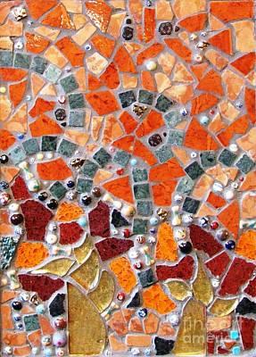 Mosaic Mixed Media - Vivid by Cristina-Mary Buzamet