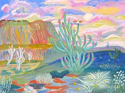 Painting - Vivid Desert by Phyllis Kaltenbach