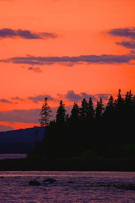 Photograph - Vivid Sky In Castine by Polly Castor