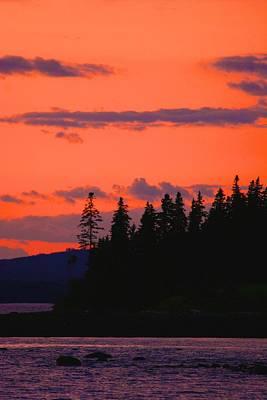 Photograph - Vivid Sky In Castine by Polly Castor