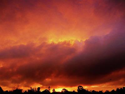 Photograph - Vivid Sunset by Mark Blauhoefer