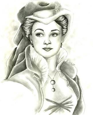 Vivien Art Print by Scarlett Royal