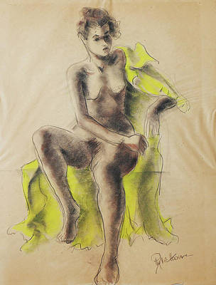 Drawing - Vivienne by Phyllis Hanson Lester