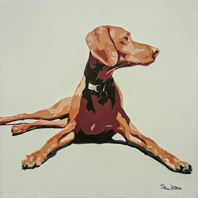 Puppy Wall Art - Painting - Vizsla 3 by Slade Roberts