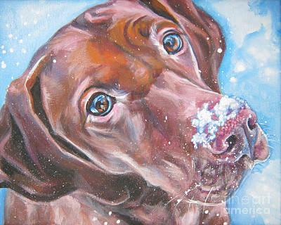Vizsla Painting - Vizsla by Lee Ann Shepard