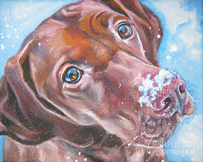Painting - Vizsla by Lee Ann Shepard