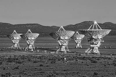 Photograph - Vla - Socorro- Nm by Steven Ralser
