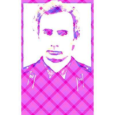 Statesmen Digital Art - Vladimir In Pink  by Lenka Rottova