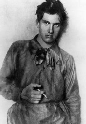 Ev-in Photograph - Vladimir Mayakovsky 1893-1930, Russian by Everett