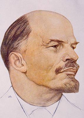 Vladimor Ilyich Aka Nicolei Lenin Art Print by Everett
