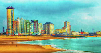 Photograph - Vlissingen Skyline by Wim Lanclus