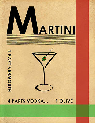 Photograph - Vodka Martini by Mark Rogan