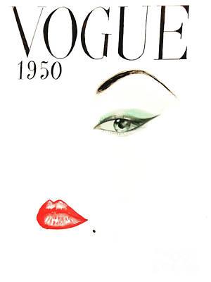 Vogue 1950 Original by AM Illustration