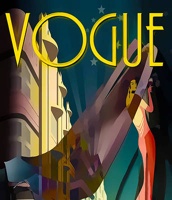 Vogue 4  Art Print