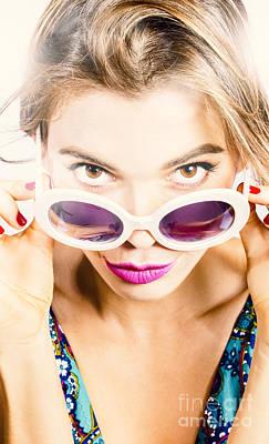 Glamour Optics Photograph - Vogue Pin Up by Jorgo Photography - Wall Art Gallery