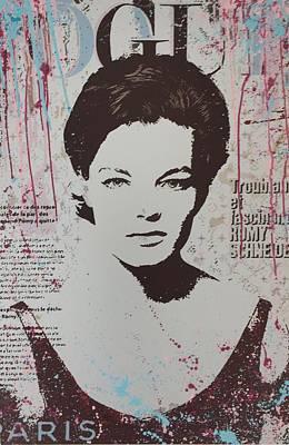 Vogue - Romy Art Print
