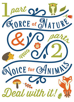 Digital Art - Voice For Animals by Nola Lee Kelsey