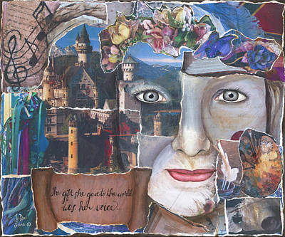 Mixed Media - Voice by JoDee Luna