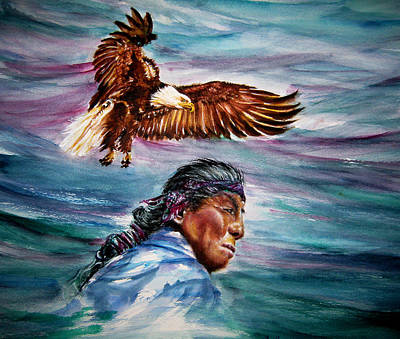 Warn In Painting - Voice Of The Eagle by NHowell