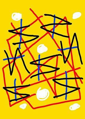 Digital Art - Void Is Void by Paulo Guimaraes