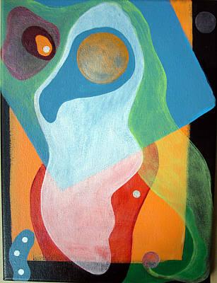 Voile Art Print by Muriel Dolemieux