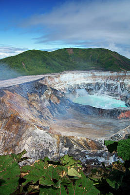 Volcan Poas Art Print