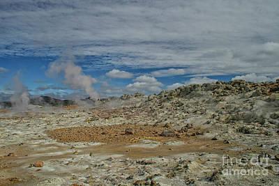 Photograph - Volcanic Landscape by Patricia Hofmeester